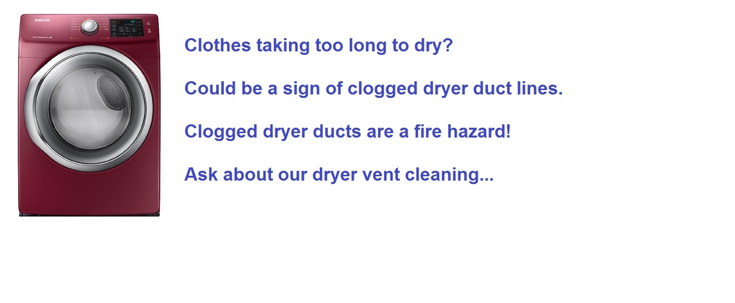 dryer vent cleaning in North New Jersey